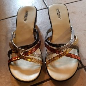 bb121c1b13342 Seychelles Shoes - Seychelles sandals multicolor sequin bling!